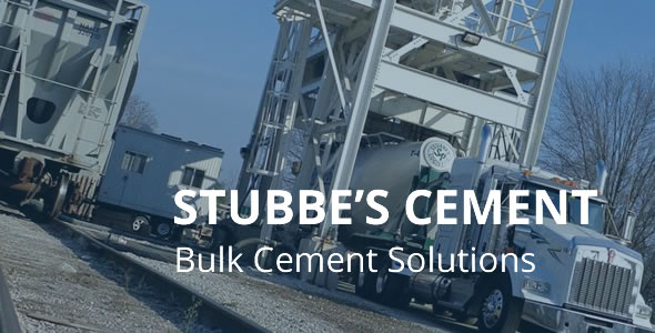 Stubbes Cement truck loading overlay